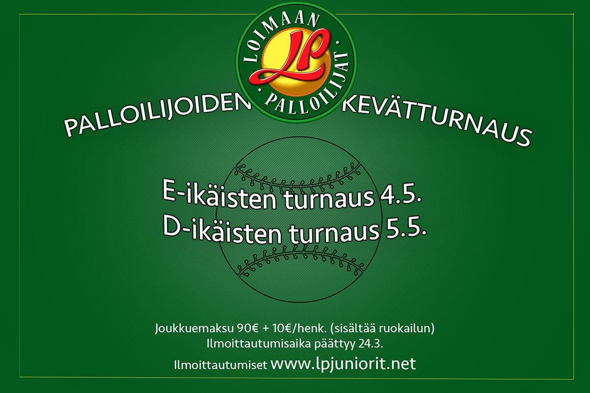 Palloilijoiden kevätturnaus 4.-5.5.