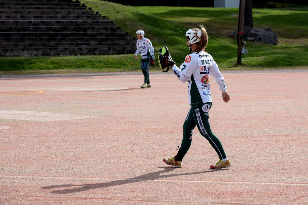 Eveliina Vainio: Ensi kaudella pyrin parantamaan suoritusten laadukkuutta, etenkin sisäpelissä.