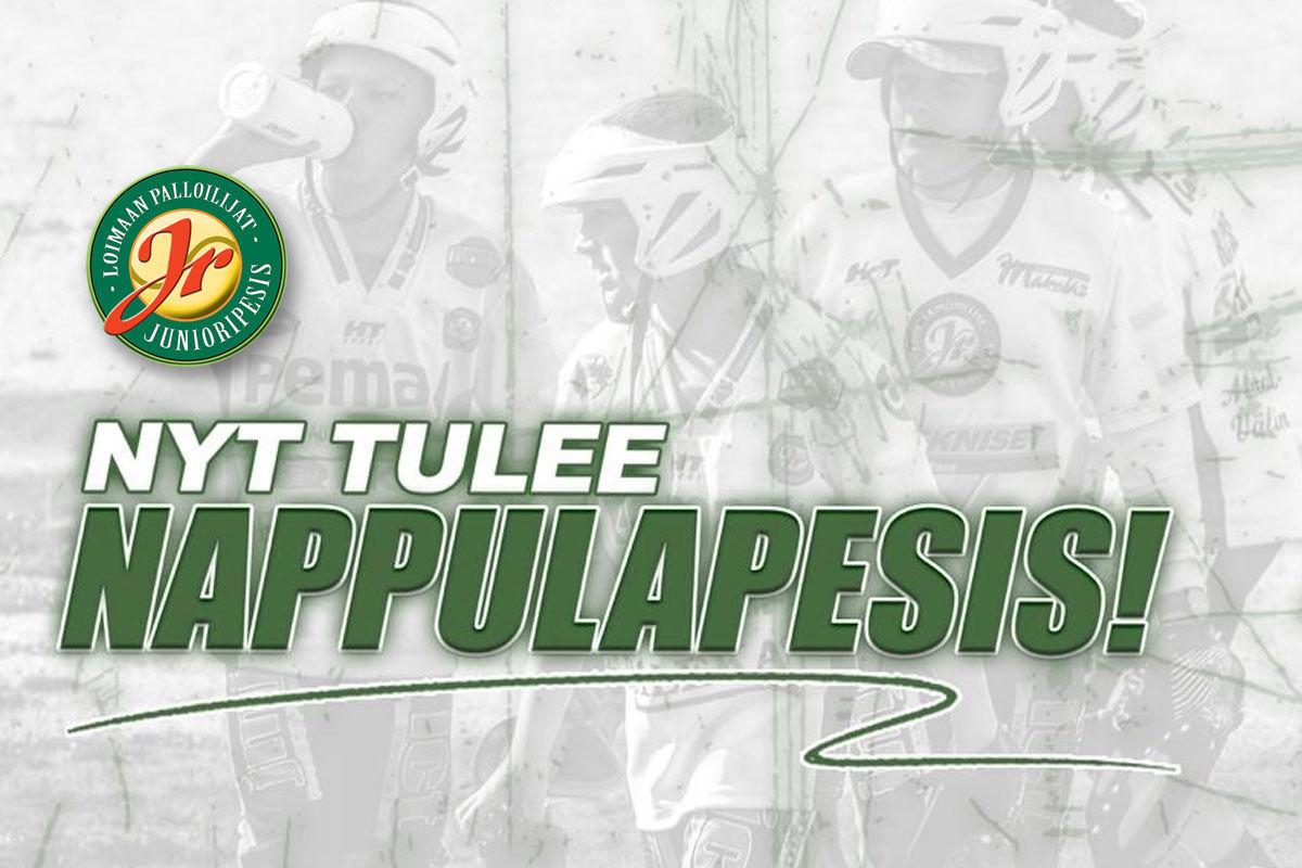 NYT TULEE NAPPULAPESIS!