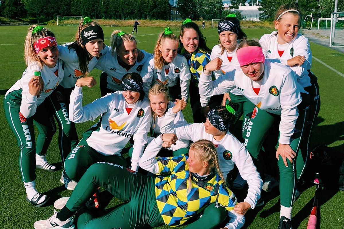 Nuorisoleirillä Loimaan Palloilijoiden c-tytöt voittivat alkusarjan rökittäen